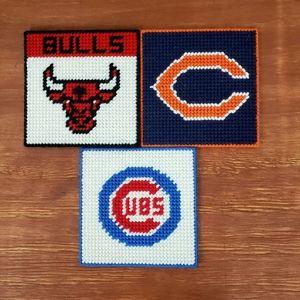 Chicago Teams Drink Coasters